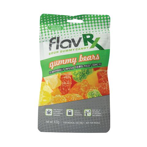 Gummy Bears 100mg THC - FlavRX