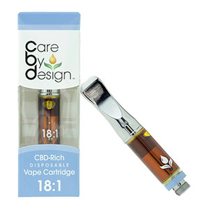 Cartridge - 18:1 CBD:THC Care by Design