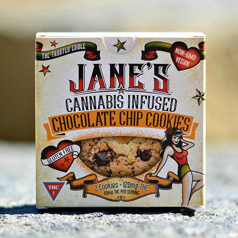 Cookie - Jane's Chocolate Chip 120mg