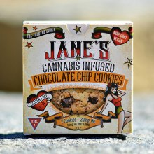 Cookie - Jane's Chocolate Chip 120mg