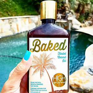 Sun Tan Oil - Baked by High Gorgeous