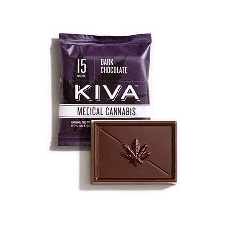 Chocolate - Kiva Dark Chocolate Mini 15mg