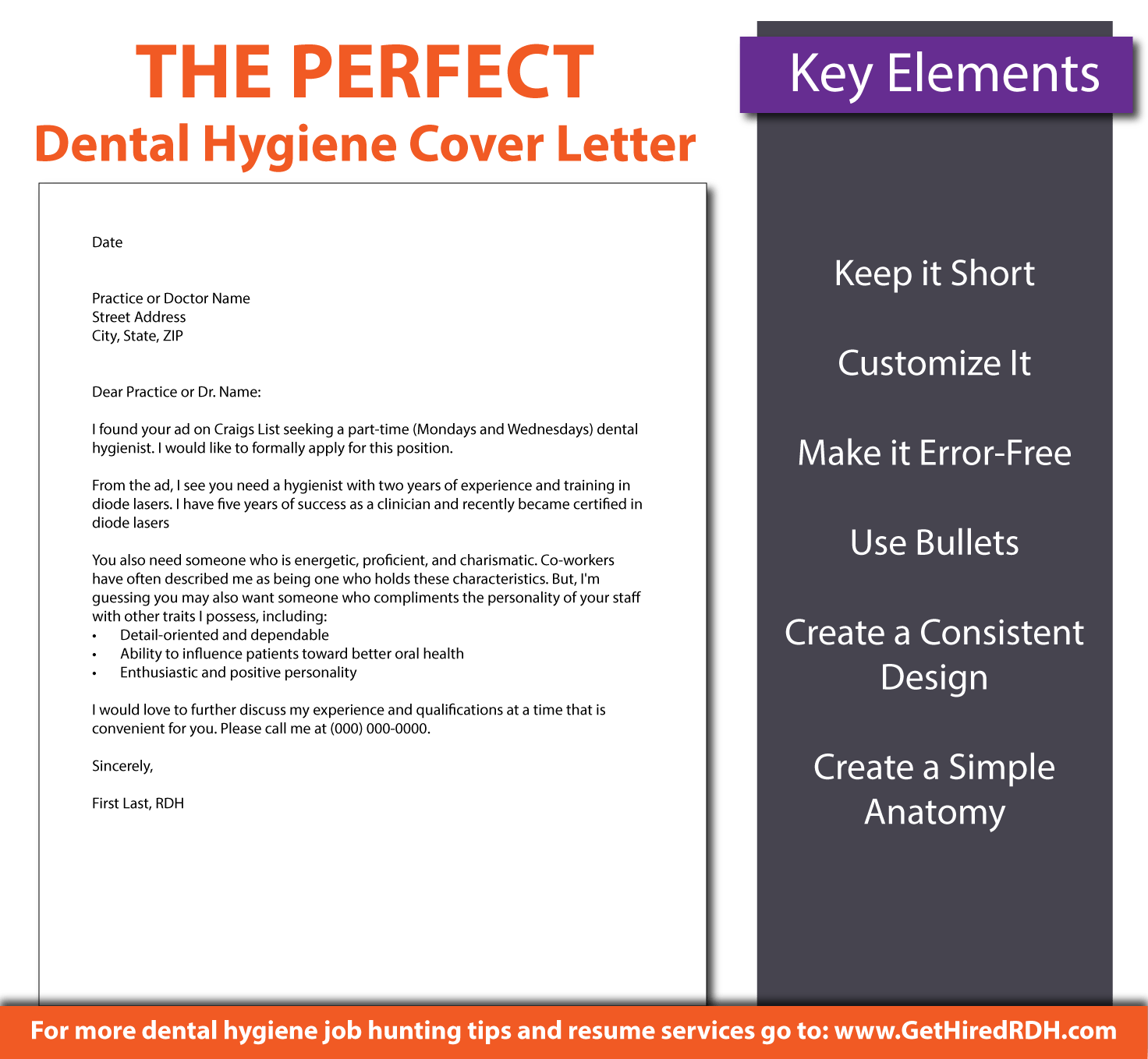 Dental Hygiene Cover Letter Ideal Vistalist Co