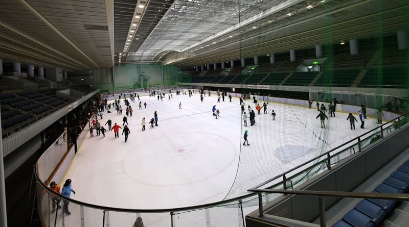 gi wave ice skating rink