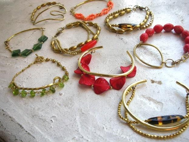 girly bracelets at little twitter