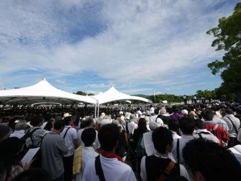 peace momorial ceremony