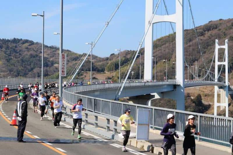 kure tobishima marathon