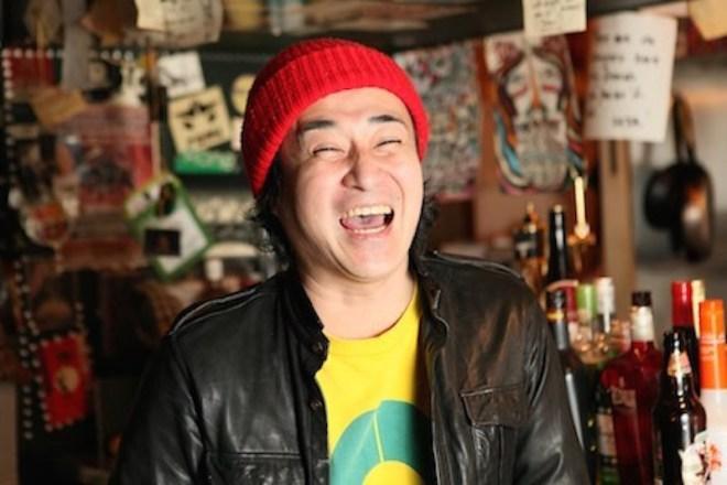 BOM owner of rock bar koba in Hiroshima Japan
