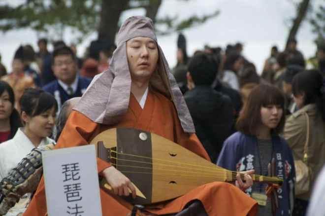 Kiyomori-Matsuri Biwa Hōshi