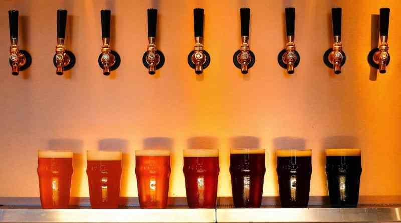raku beer japanese craft beer cafe in hiroshima japan