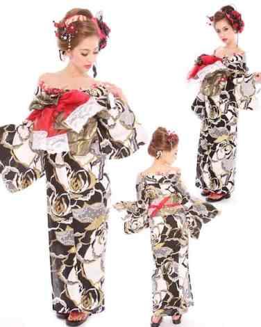 oiran yukata style