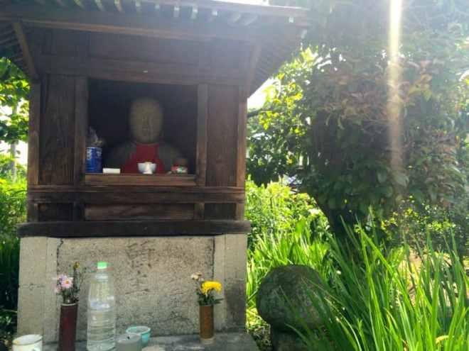 Okiku-jizo [お菊地蔵] gokurakuji hike hiroshima japan