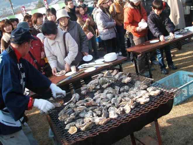 Ōtake Oyster Festival