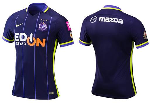 Sanfrecce 2016 Home Uniform
