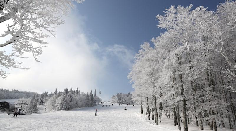 mizuho highland beech ski course