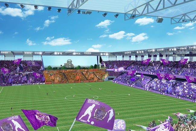 sanfrecce stadium proposal inside