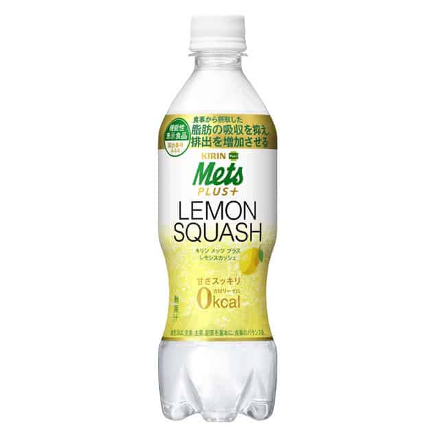Mets Plus+ 0kcal Lemon Squash
