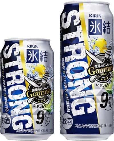 Kirin Strong Gourmet (Lemon & Lime)