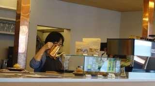 cafe luster in ushita, hiroshima