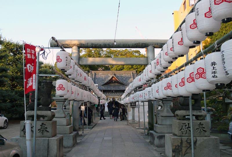 hirose shrine, hiroshima