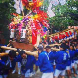 sorasaya shrine autumn festival hiroshima