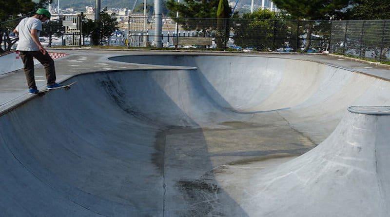 hatsukaichi skate park hiroshima japan