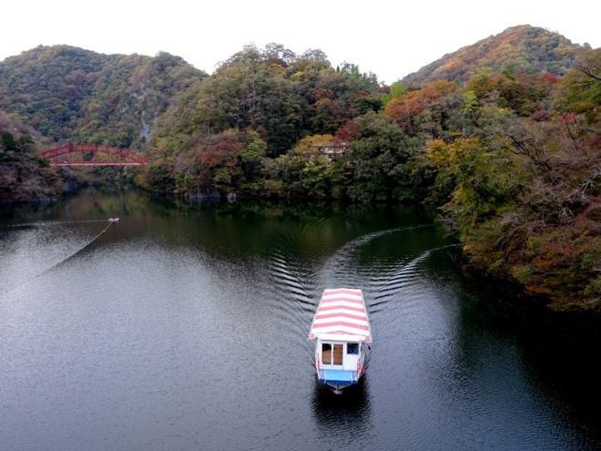 Shinryuko Lake Taishaku-kyo Hiroshima