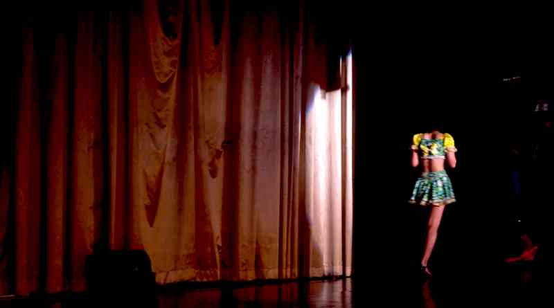 Daiichi Gekijo Strp Theater in Hiroshima, Japan