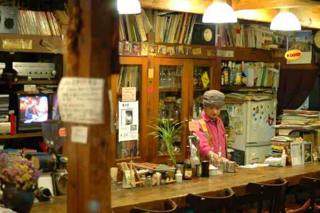 Otis cafe-bar in Hiroshima, Japan
