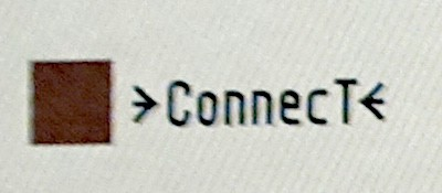 →Connect← icon