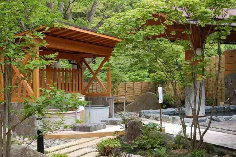 Mori-no-yu Onsen in Kimita, Miyoshi, Hirosima, Japan