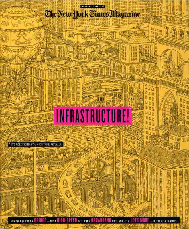 New York Times Magazine Infrastructure cover