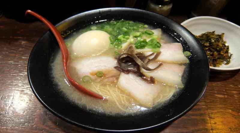 michimaru hakata ramen in hiroshima japan