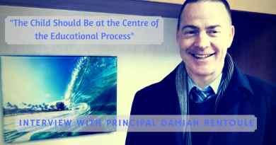 HIS Principal Damian Rentoule