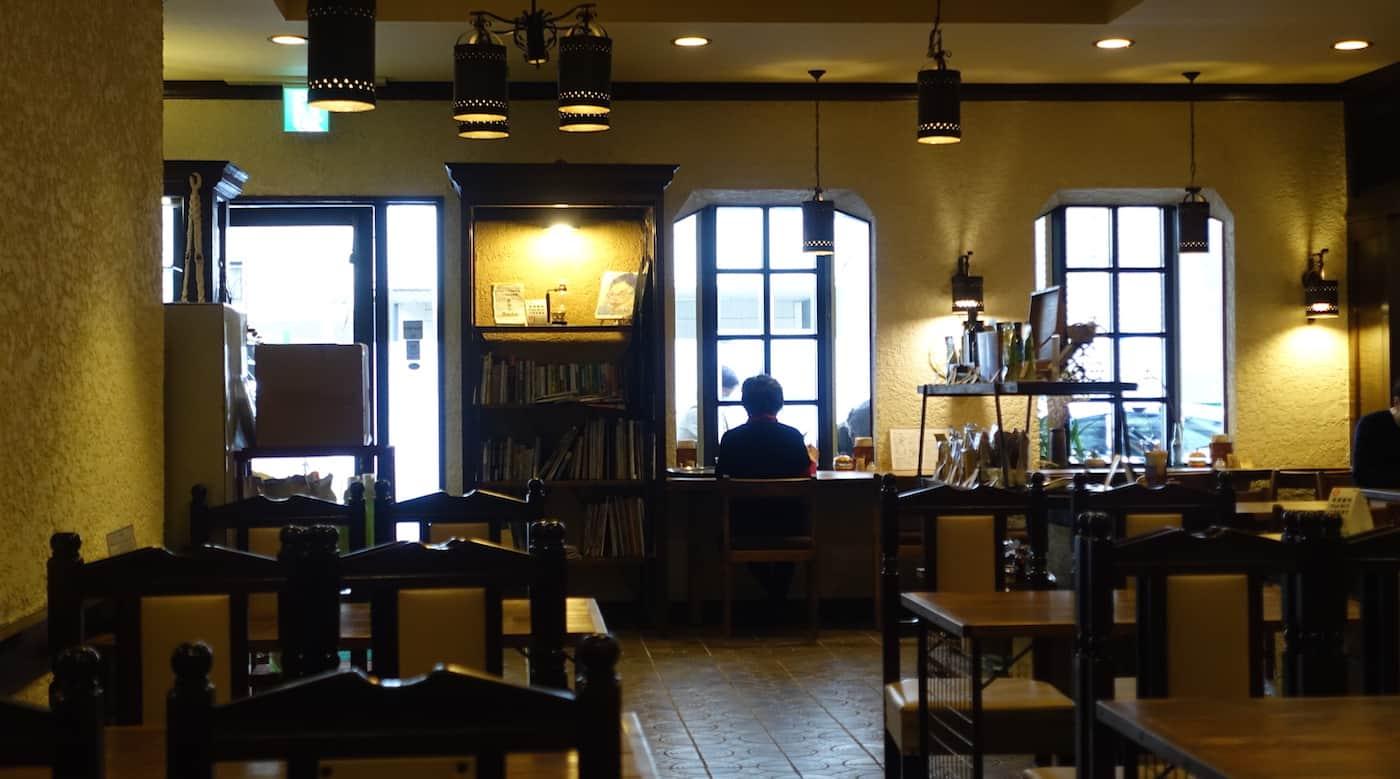 kissa saeki organic cafe with vegan vegetarian and gluten free options in central hiroshima japan