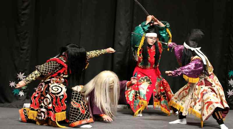 Yamauba performed by the Yasuno Kagura Troupe
