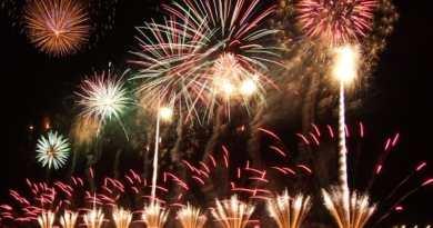 Kintai Bridge Fireworks 2018