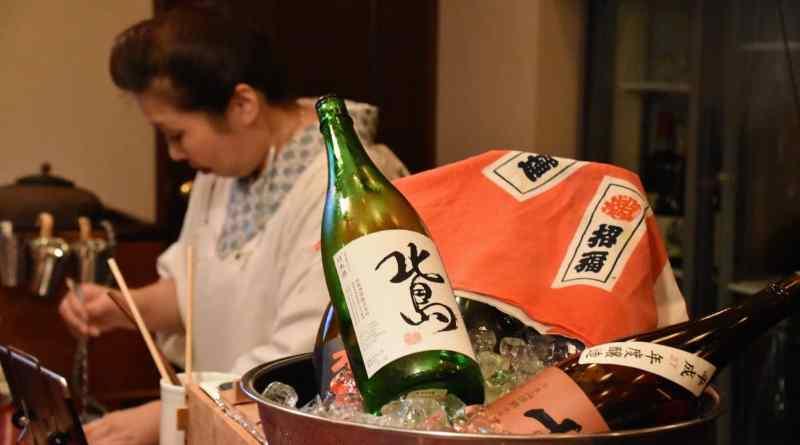 kimono sake bar experience in hiroshima
