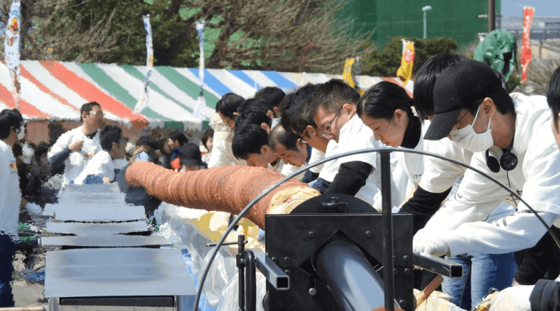 World Record Baumkuchen Hiroshima Japan