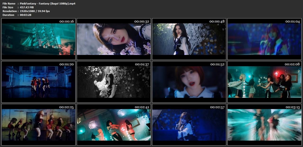 [MUSIC VIDEO] PinkFantasy – Fantasy (2019.08.05/MP4/RAR)
