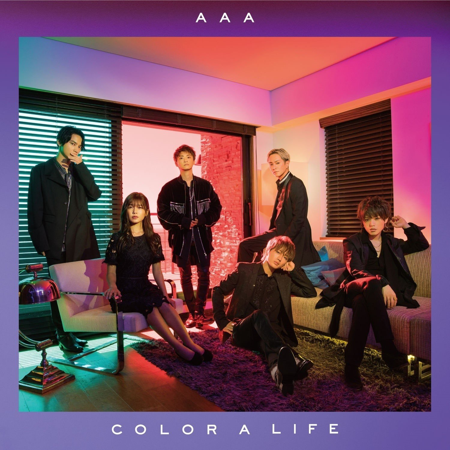 [Album] AAA – COLOR A LIFE [FLAC / 24bit Lossless / WEB] [2018.08.22]