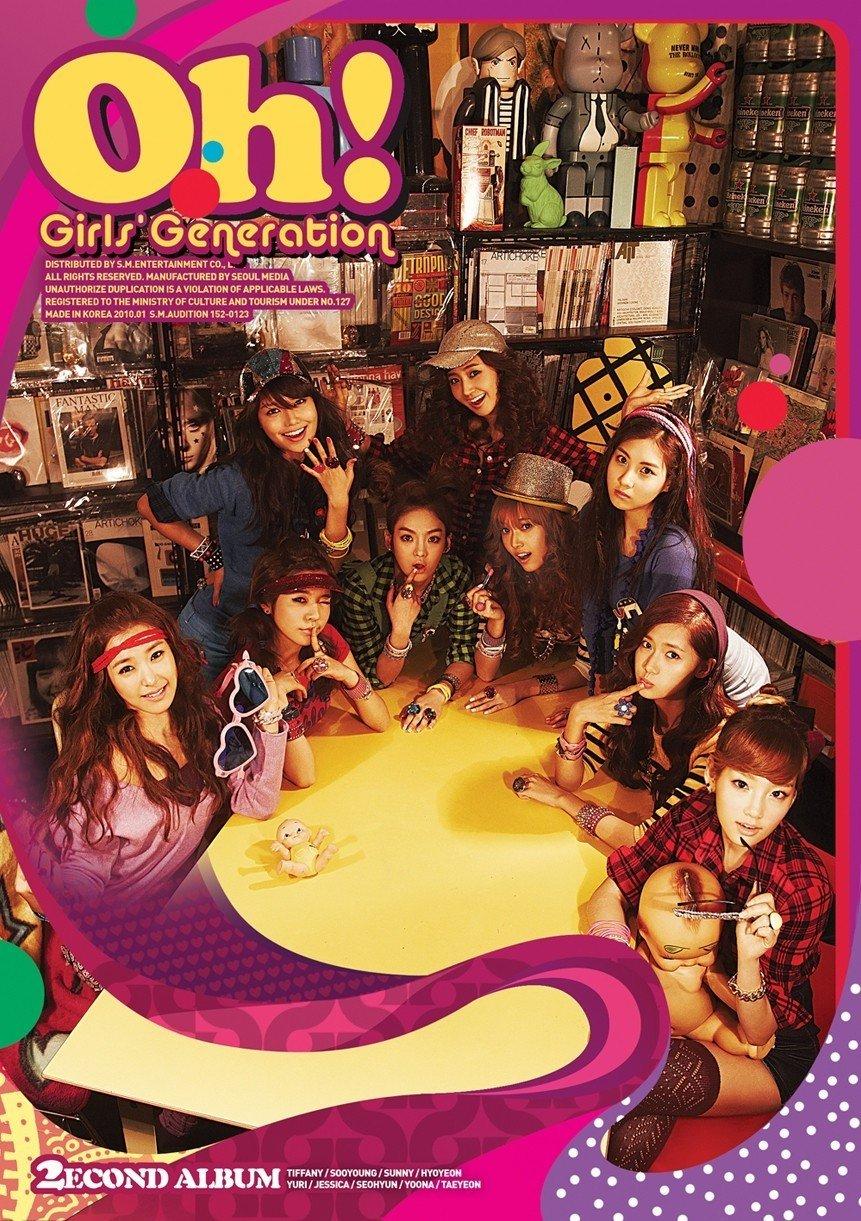 [Album] Girls' Generation (소녀시대/少女時代) – Oh! [FLAC / 24bit Lossless / WEB] [2010.01.28]