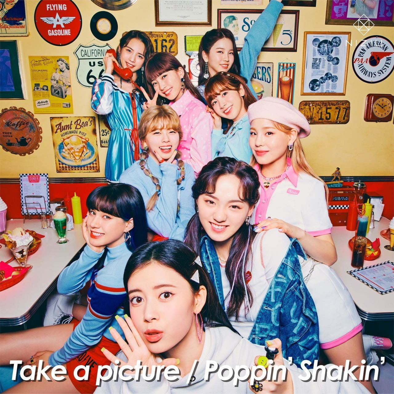[Single] NiziU – Take a picture/Poppin' Shakin' [FLAC / 24bit Lossless / WEB] [2021.04.07]