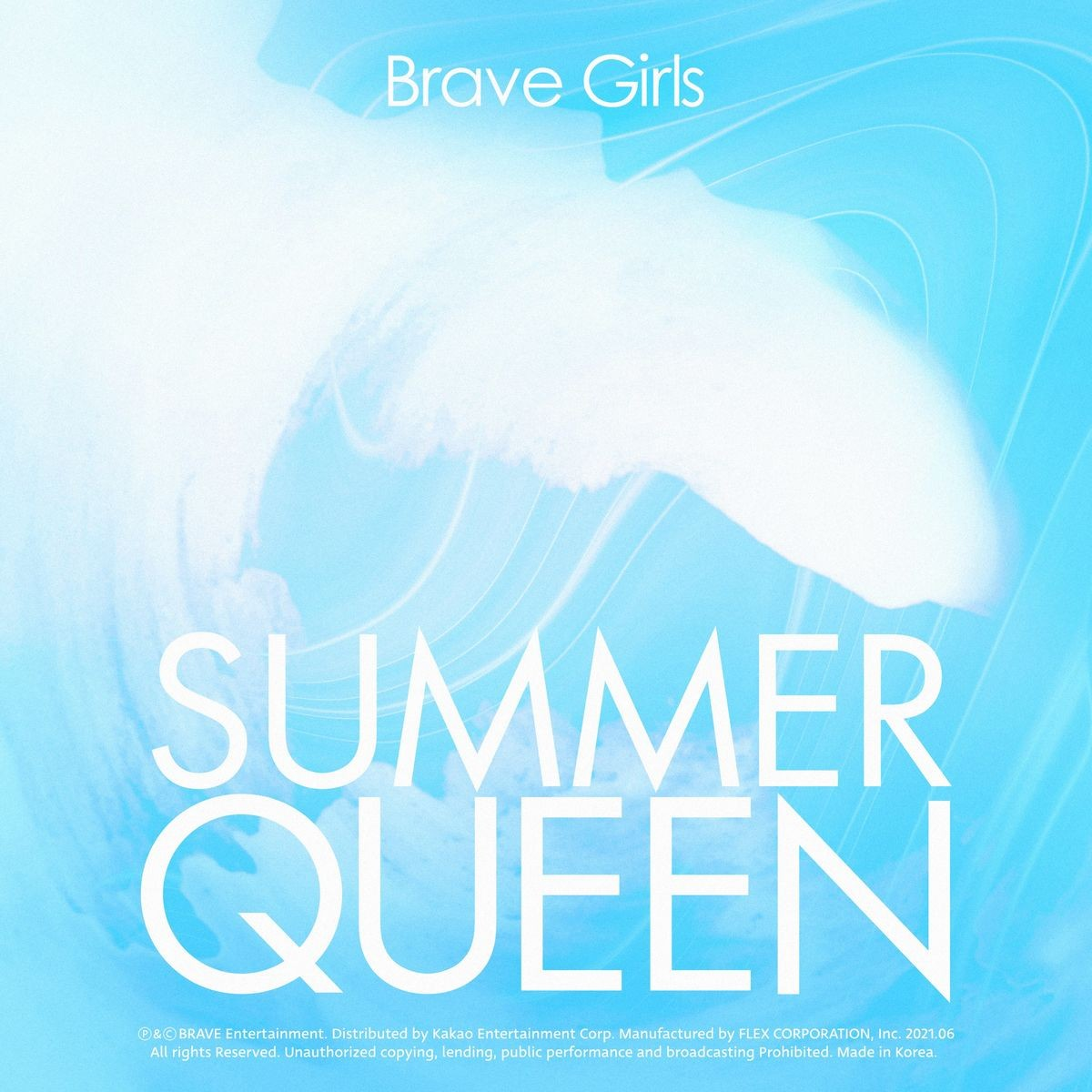 [Single] Brave Girls – Summer Queen [FLAC / 24bit Lossless / WEB] [2021.06.17]