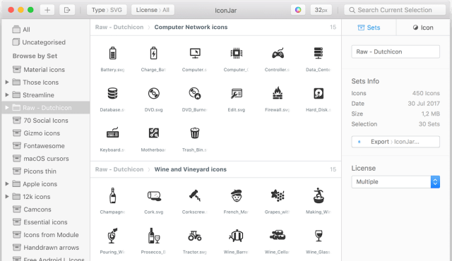 Iconjar For Mac OS X