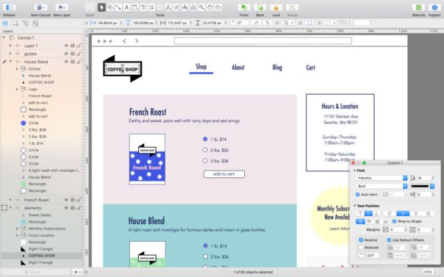 OmniGraffle Pro For MacOSX