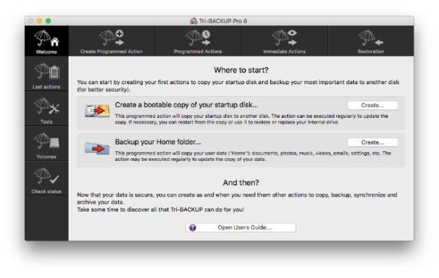 Tri-BACKUP Pro For Mac OS X