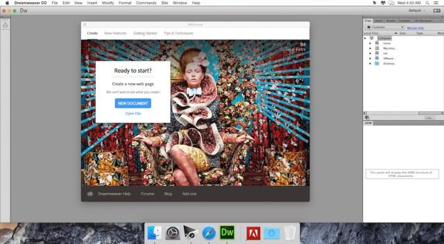 Adobe Dreamweaver For MacOSX