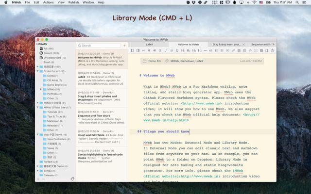 MWeb For MacOS