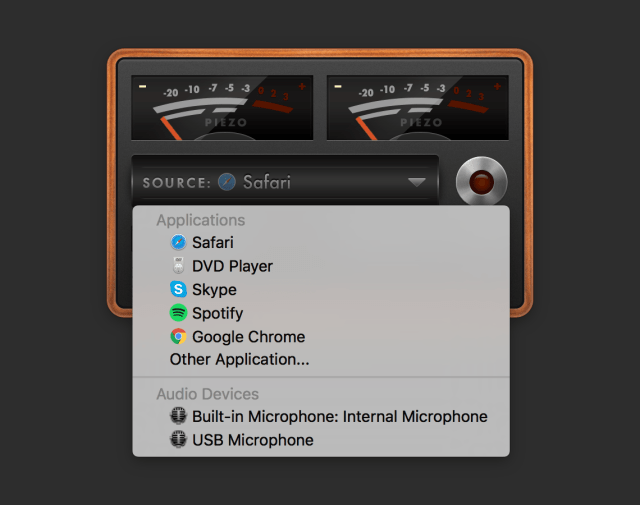 Piezo Mac OS X